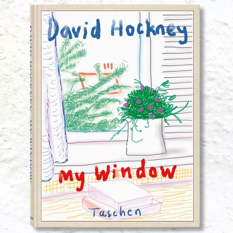 My Window - Collector's Edition: signed & numbered artist's book by David Hockney,edition of1000