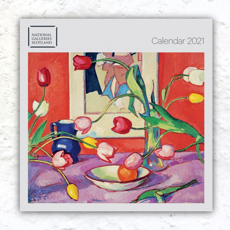 National Galleries Scotland Calendar 2021