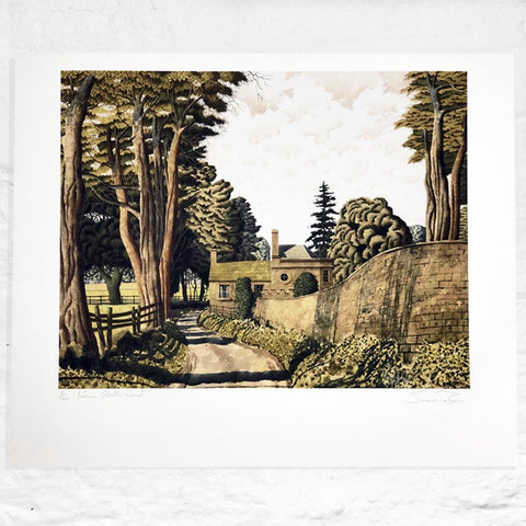 Near Storth Wood - Signed Limited Edition Print by SImon Palmer