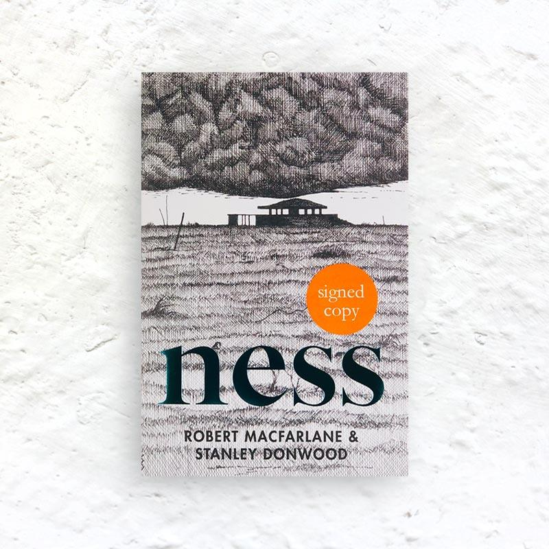 Ness by Robert Macfarlane and Stanley Donwood - signed hardback 1st edition