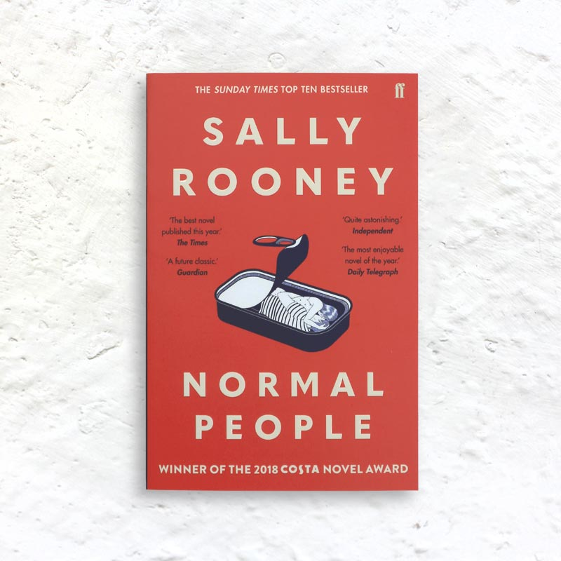 Normal People by Sally Rooney (signed paperback)