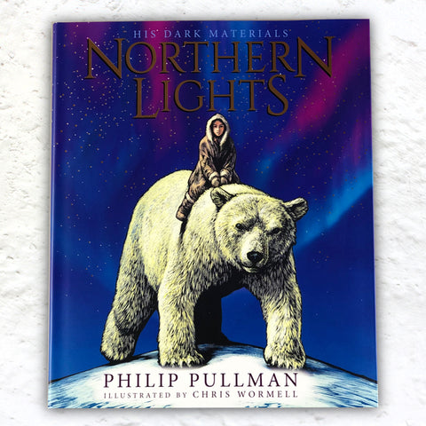 Northern Lights: the Illustrated Edition (His Dark Materials) by Philip Pullman, illustrated by Chris Wormwell - 1st edition hardback signed by Pullman