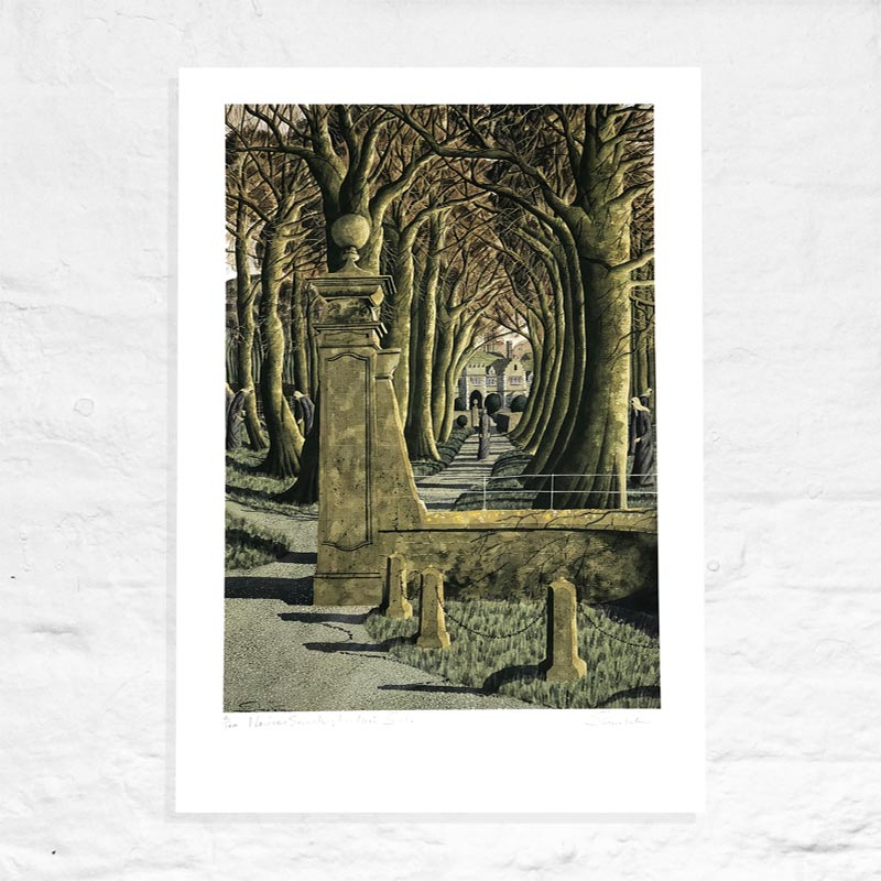 Novices Searching for their Souls - Signed Limited Edition Print by Simon Palmer