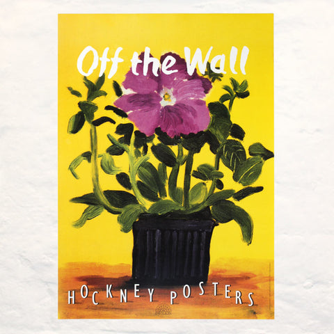 Off the Wall Poster by David Hockney