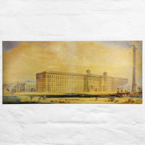 Old Salts Mill Architect's Watercolour
