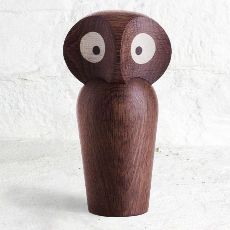 Owl by Paul Anker Hansen - Smoked Oak (Large)