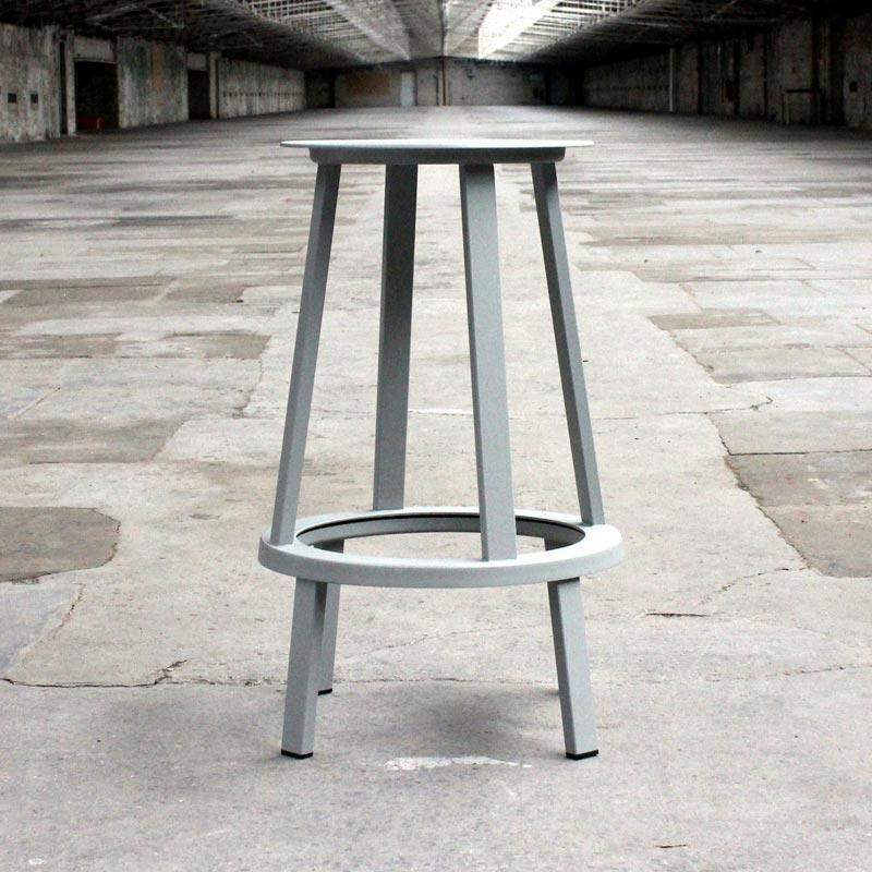 Revolver Bar Stool des Leon Ransmeier (made by Hay)