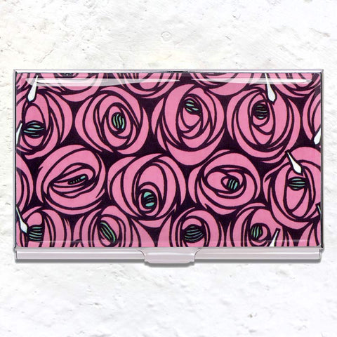 Roses card case (des. Charles Rennie Macintosh)
