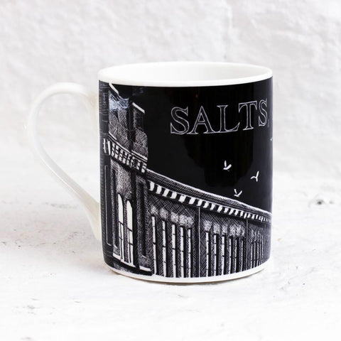 Salts Mill Mug with artwork by Simon Palmer