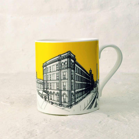 Salts Mill Mug by People Will Always Need Plates - exclusive to Salts - Yellow