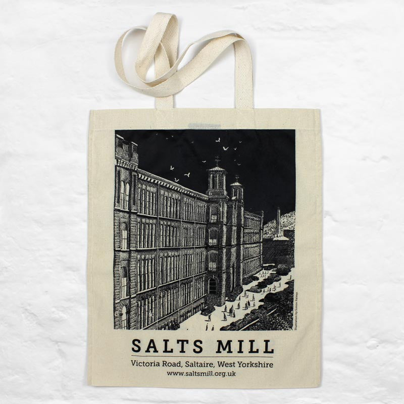 Salts Mill Tote Bag