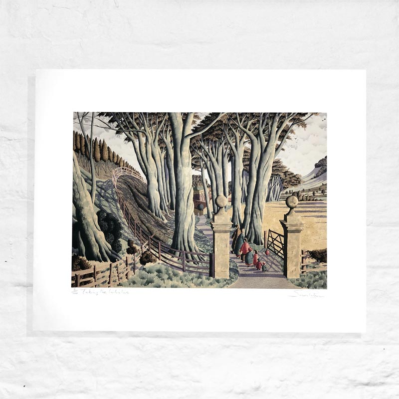 Taking the Initiative - Signed Limited Edition Print by Simon Palmer