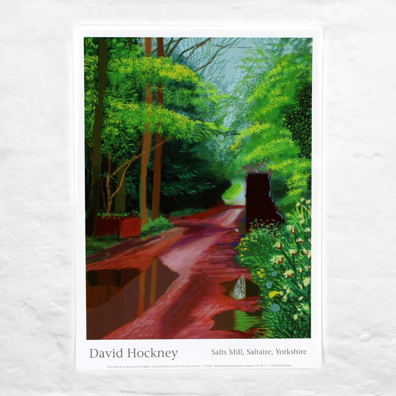 11th May 2011 (The Arrival of Spring) by David Hockney