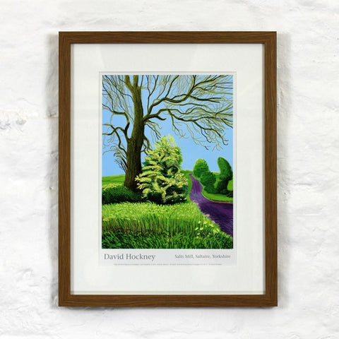 12th May 2011 (The Arrival of Spring) by David Hockney