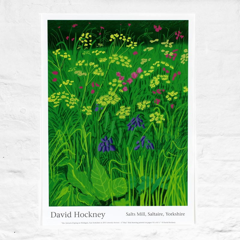 17th May 2011 (The Arrival of Spring) by David Hockney