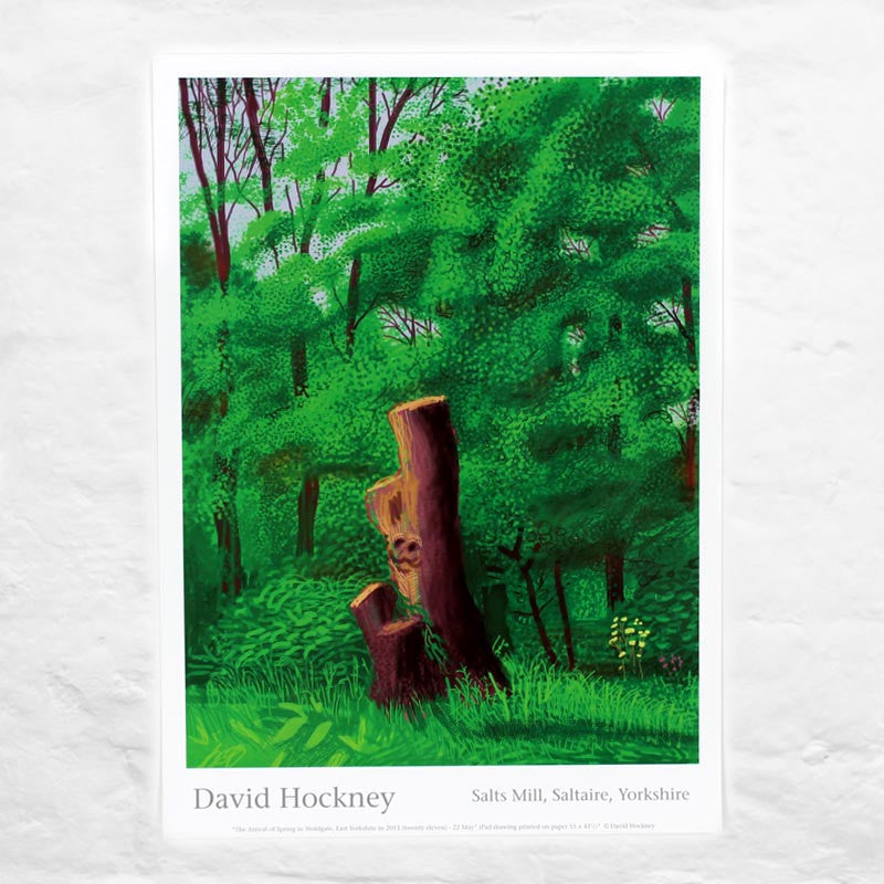 22nd May 2011 (The Arrival of Spring) by David Hockney