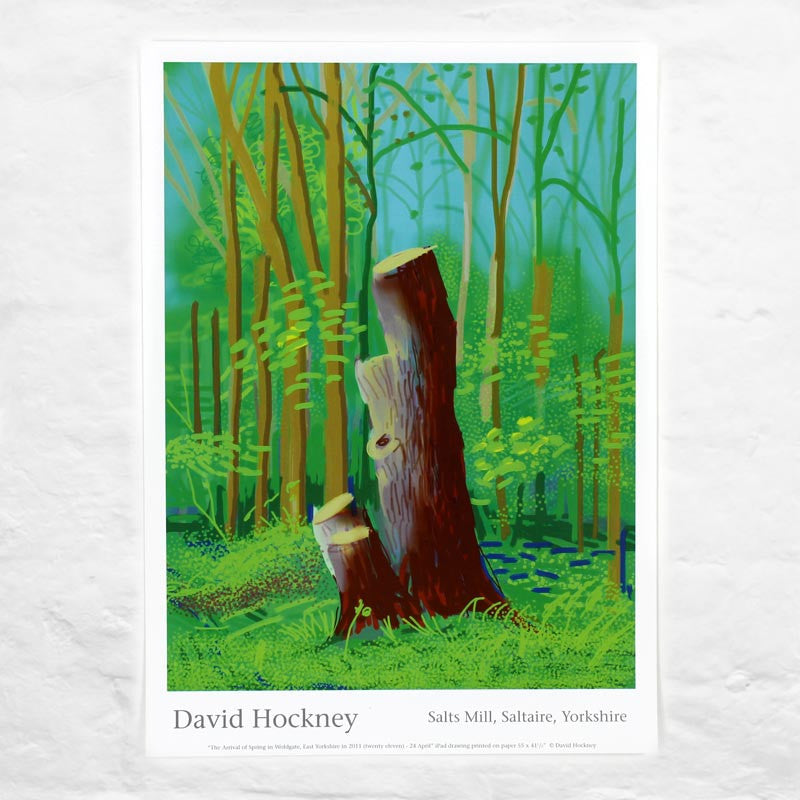 24th April 2011 (The Arrival of Spring) by David Hockney