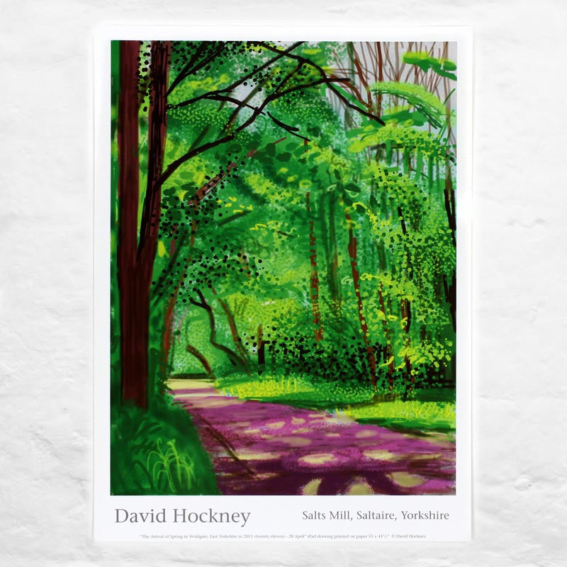 28th April 2011 (The Arrival of Spring) by David Hockney
