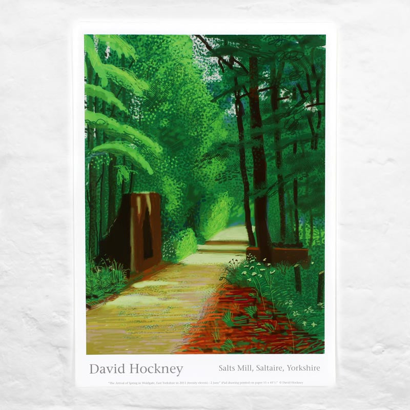 2nd June 2011 (The Arrival of Spring) by David Hockney