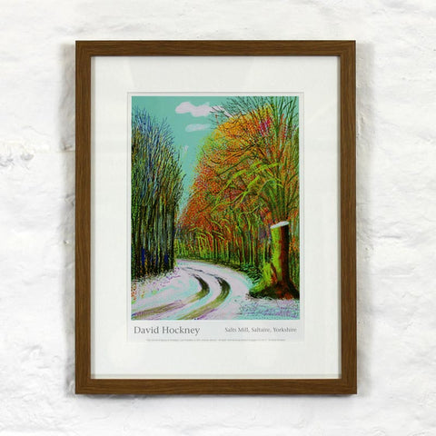 8th January 2011 (The Arrival of Spring) by David Hockney