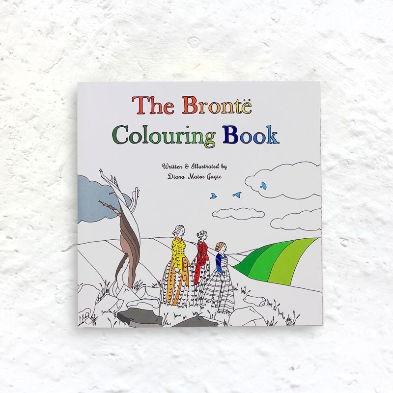 The Brontë Colouring Book by Diana Gagic (signed)
