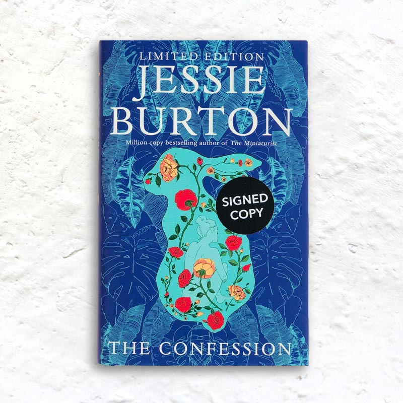 The Confession by Jessie Burton (signed 1st edition hardback)