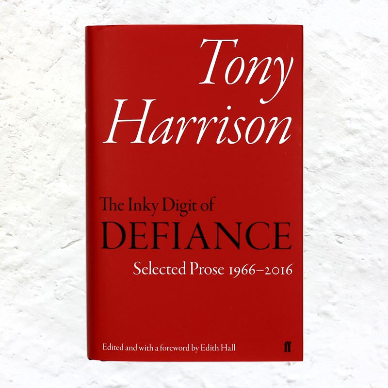 The Inky Digit of Defiance by Tony Harrison