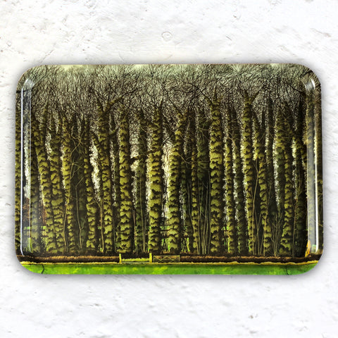 The Ivy Wood Plantation Tray by Simon Palmer - exclusive