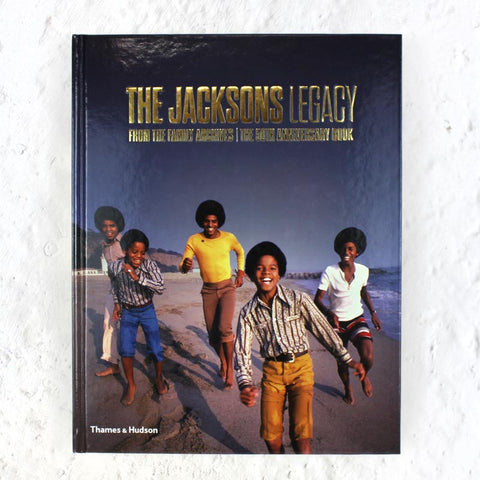 The Jacksons: Legacy (signed by Jackie, Marlon and Tito Jackson) signed book