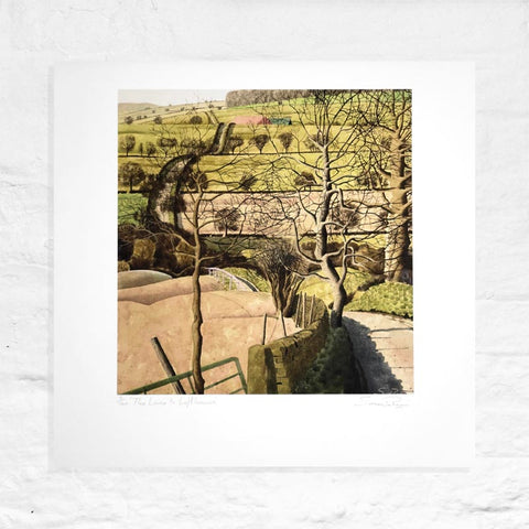 The Lane to Lofthouse - Signed Limited Edition Print by Simon Palmer