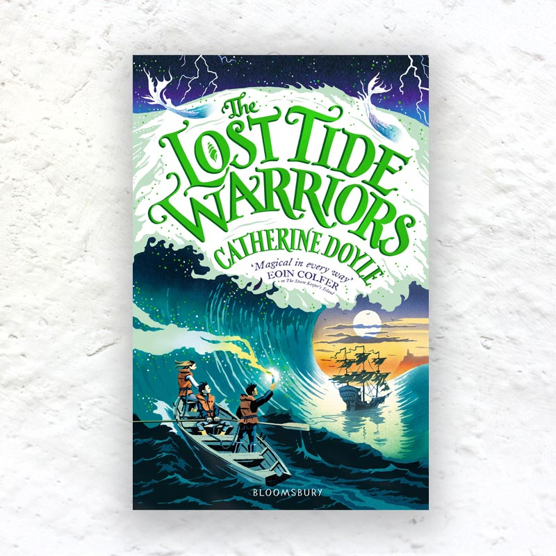 The Lost Tide Warriors by Catherine Doyle  (Part 2 of The Storm Keeper Trilogy) - signed paperback