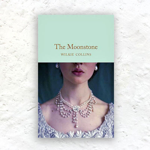 The Moonstone by Wilkie Collins - small hardback (Macmillan Collector's Library Edition)