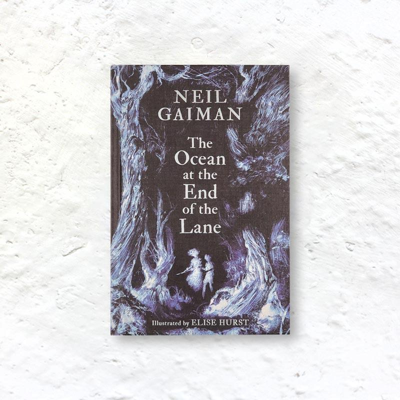 The Ocean at the End of The Lane by Neil Gaiman - new hardback edition signed by Gaiman with illustrations by Elise Hurst