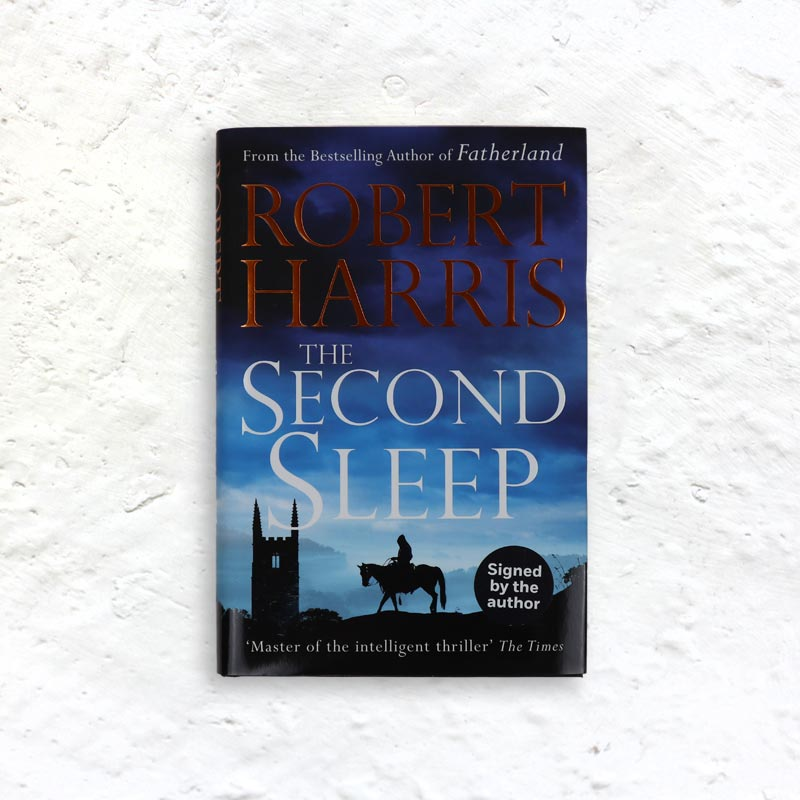 The Second Sleep by Robert Harris (signed 1st edition hardback)