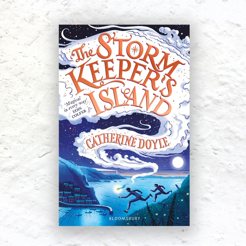 The Storm Keeper's Island by Catherine Doyle (Part 1 of The Storm Keeper Trilogy) - signed paperback