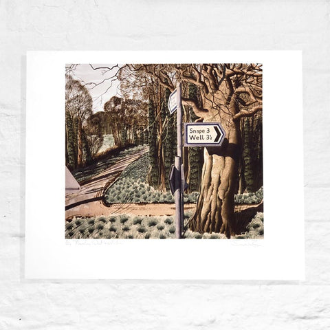 Thornton Watlass Moor - Signed Limited Edition Print by Simon Palmer