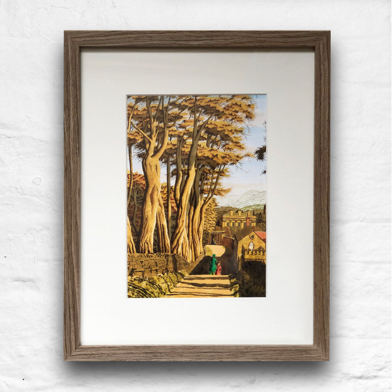 Two Women of Integrity by Simon Palmer - small framed print