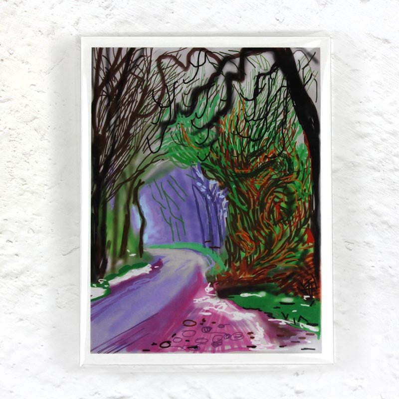 The Arrival of Spring Postcard Pack (x49) by David Hockney