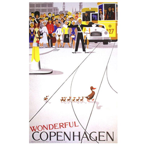 Wonderful Copenhagen Poster by Viggo Vanby