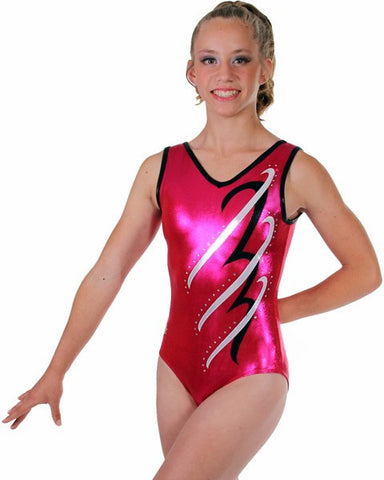 Snowflake Designs Accent Gymnastics Leotard