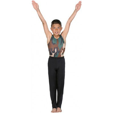 Snowflake Designs Men and Boys Camoflage Gymnastics Leotard