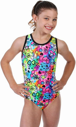Snowflake Designs Cherry O Gymnastics Leotard