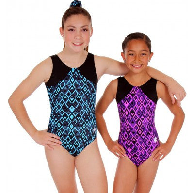 Snowflake Designs Driven Gymnastics Leotard