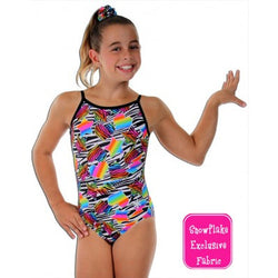 Snowflake Designs Heartbreaker Gymnastics Leotard