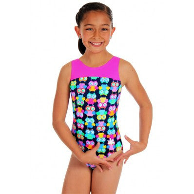 Snowflake Designs Hoot Gymnastics Leotard