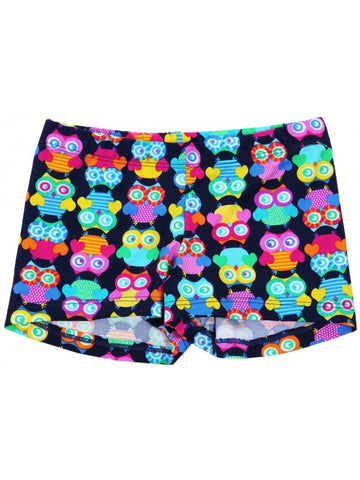 Snowflake Designs Hoot Gymnastic Shorts
