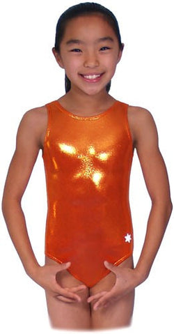 Snowflake Designs Orange Leotard