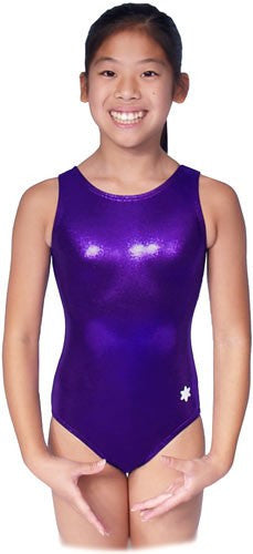 Snowflake Designs Purple Leotard