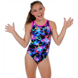 Snowflake Designs Paint Fling Gymnastics Leotard