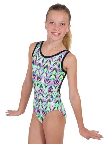 Snowflake Designs Tribal Gymnastics Leotard